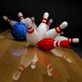 11199001-brise-quilles-rouges-et-blancs-dans-le-bowling